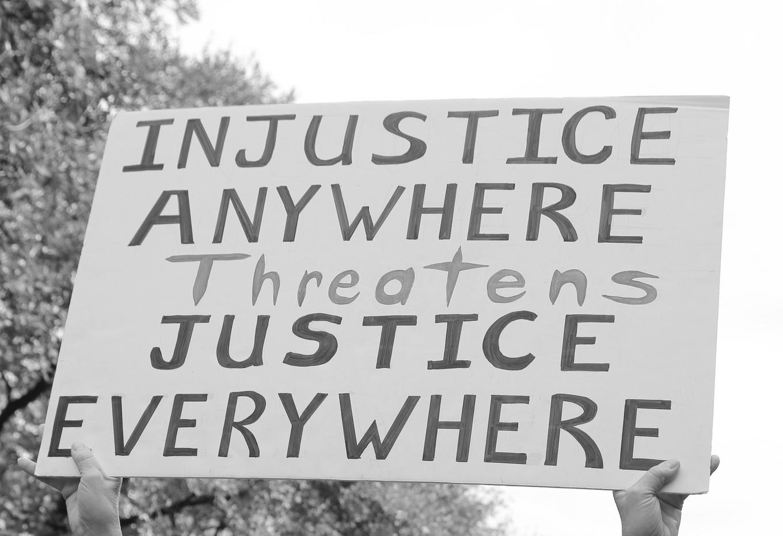 Injustice everywhere - Photo credit: Elizabeth Brossa, flickr creative commons