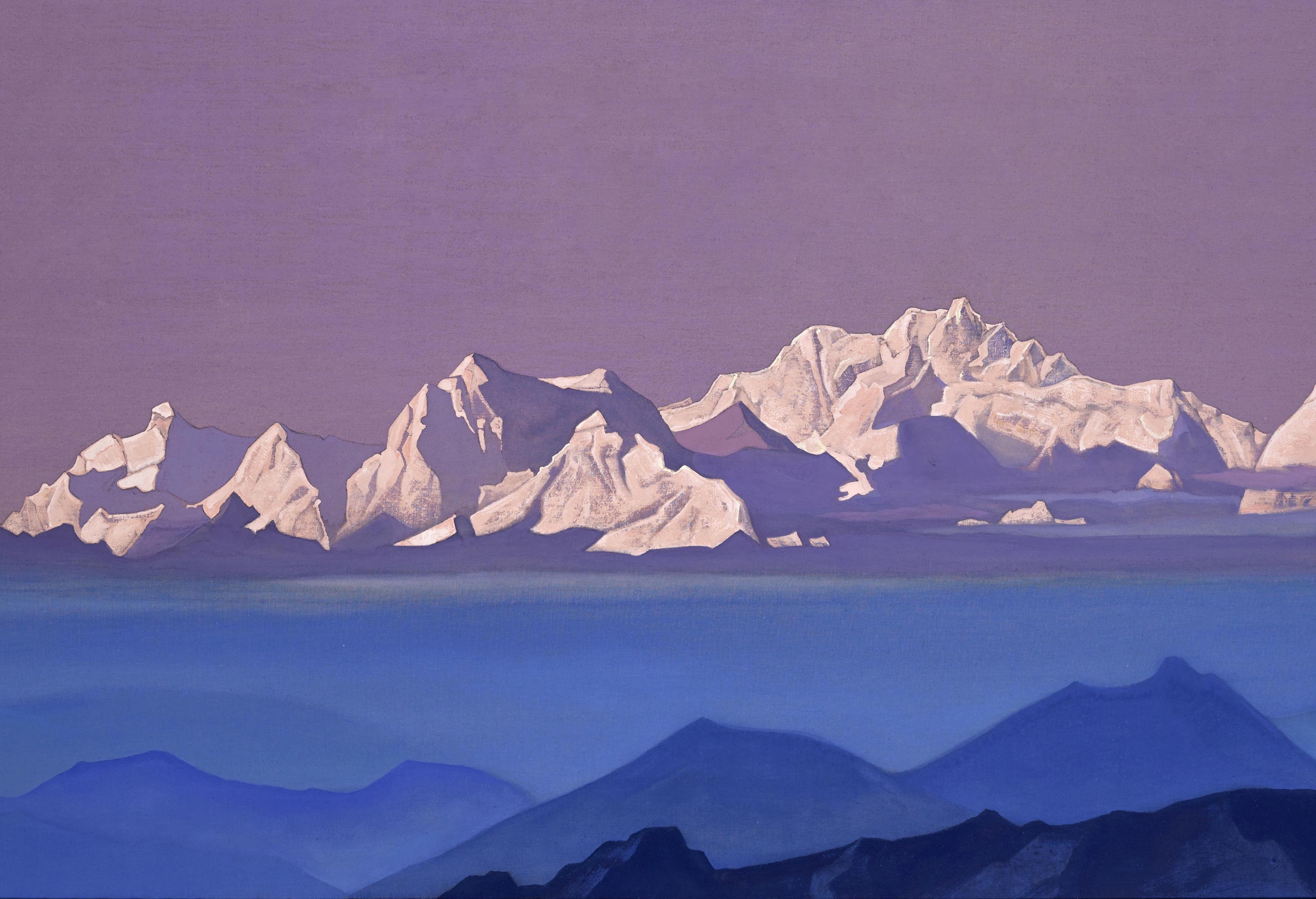 nicholas roerich 'Kanchenjunga,' 1935-1936