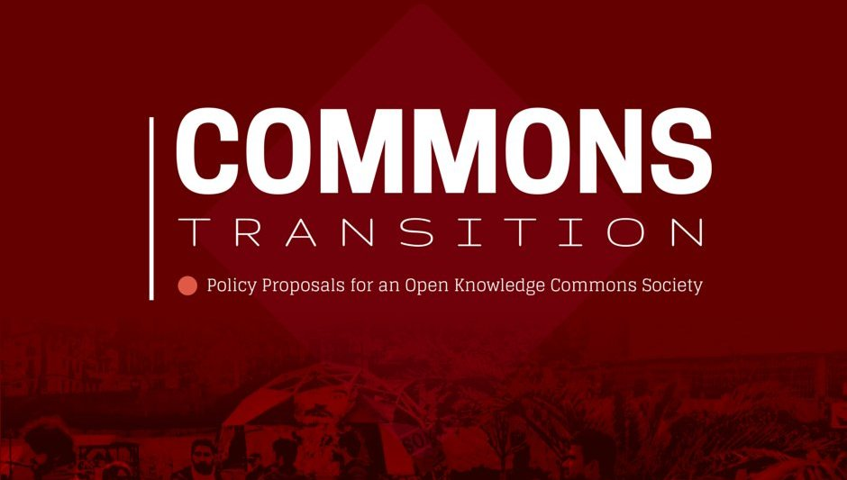 Commons transition - peer production licence