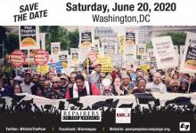 The Mass Poor People's Assembly and Moral March
