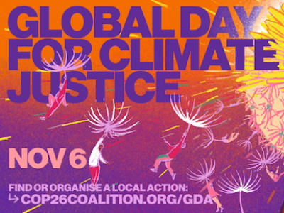 global day for climate justice, nov 6