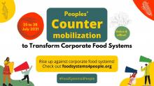 Rise up against corporate food systems!