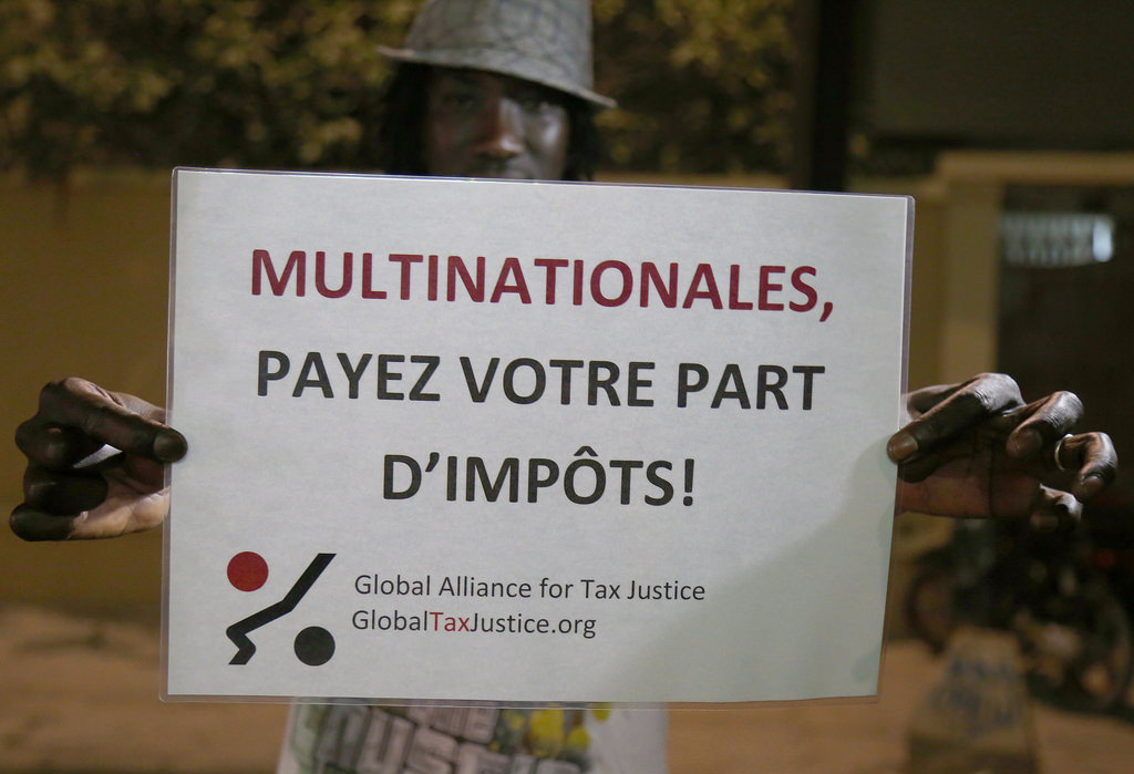 Photo credit: Global Tax Justice Alliance, flickr